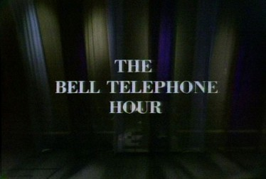 The Bell Telephone Hour Library Footage