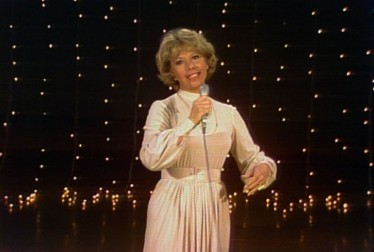 Host Dinah Shore on Dinah! Footage