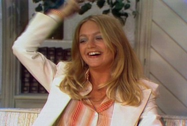 Goldie Hawn Footage from Dinah!