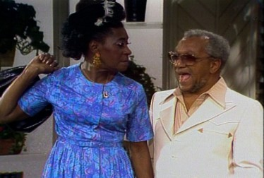 LaWanda Page & Redd Foxx Footage from Dinah!