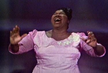 Mahalia Jackson Footage from The Dinah Shore Chevy Show