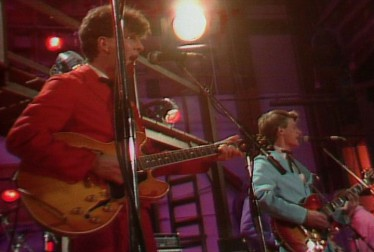 Split Enz Footage from Fridays