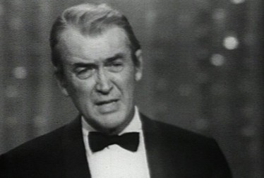 Jimmy Stewart Footage from The Golden Globe Awards