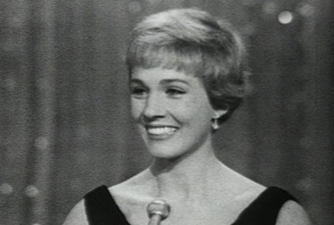 Julie Andrews Footage from The Golden Globe Awards