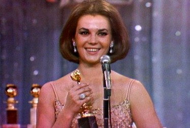 Natalie Wood Footage from The Golden Globe Awards