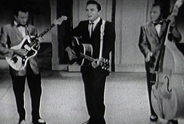 Johnny Cash Footage from The Jimmie Rodgers Show