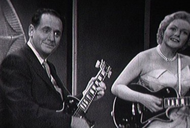 Les Paul & Mary Ford Footage from The Jimmie Rodgers Show