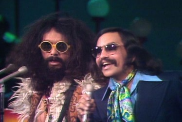 Cheech & Chong 70s Stand-Up Comedy Footage