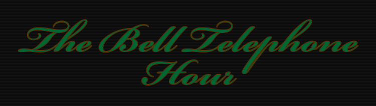 The Bell Telephone Hour Footage Library