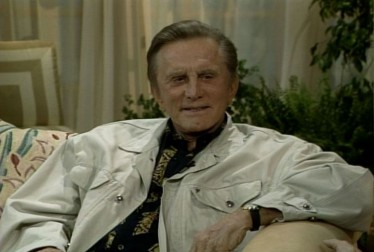 Kirk Douglas Footage from A Conversation With Dinah