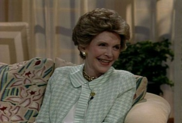 Nancy Reagan Footage from A Conversation With Dinah