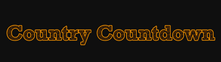 Country Countdown Footage Library