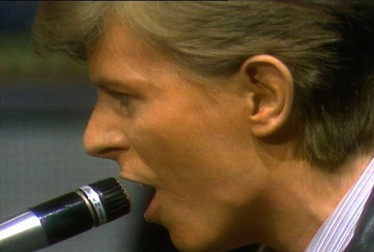David Bowie 70s Rock Footage