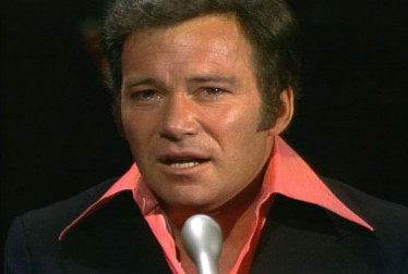 William Shatner Celebrity Singers Footage