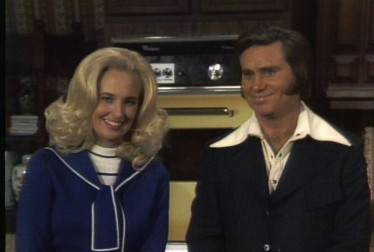 Tammy Wynette & George Jones Footage from Dinah's Place
