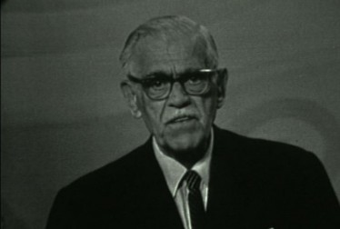 Boris Karloff Footage from The Entertainers
