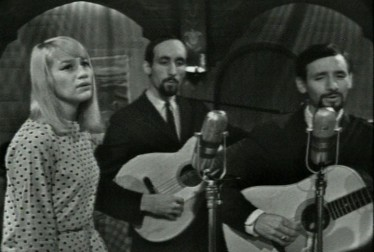 Peter, Paul & Mary Footage from International Cafe