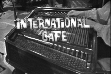 International Cafe Library Footage
