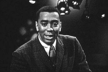 Host Oscar Brown Jr. on Jazz Scene USA Footage