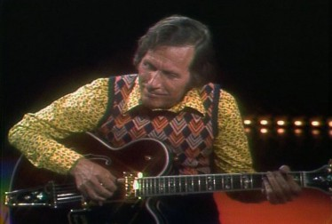 Chet Atkins Footage from The Jerry Reed When You're Hot You're Hot Hour