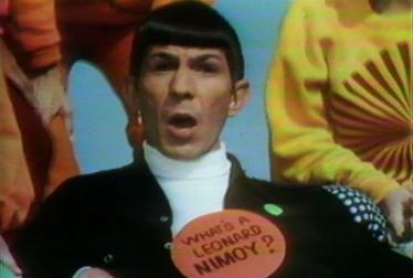 Leonard Nimoy Celebrity Singers Footage