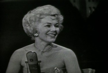 Ava Gabor Footage from Jukebox Jury