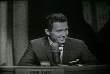John Raitt Footage from Jukebox Jury