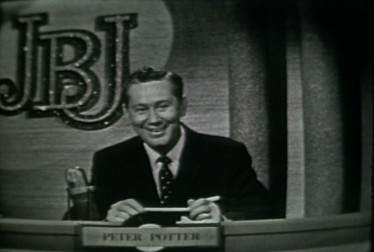 Host Peter Potter on Jukebox Jury Footage