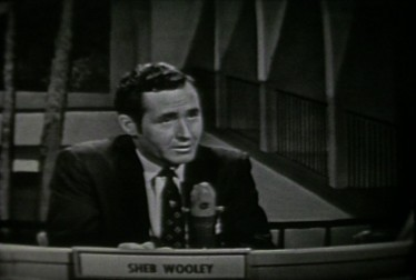 Sheb Wooley Footage from Jukebox Jury