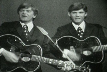 Everly Brothers Footage from Kraft Summer Music Hall