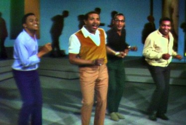Four Tops Footage from Lloyd Thaxton Show