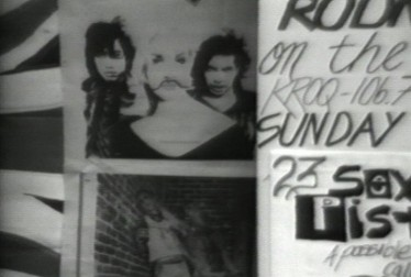 L.A. Punk Memorabilia Footage from Never Mind The Sex Pistols Here's The Bollocks