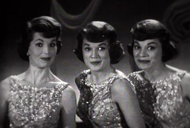 McGuire Sisters Footage from Perry Como Show & Perry Como's Kraft Music Hall