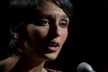 Joan Baez Folk Music Footage