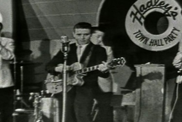 Eddie Cochran Footage from Town Hall Party