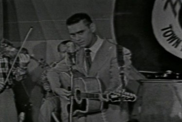 George Jones Footage from Town Hall Party