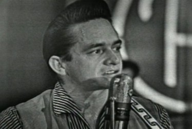 Johnny Cash Footage from Town Hall Party