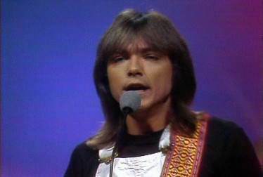 David Cassidy Footage from Wolfman Jack Show