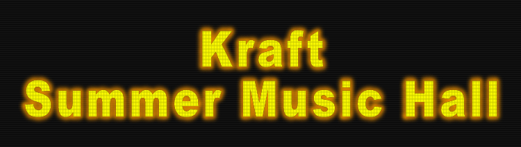 Kraft Summer Music Hall Footage Library