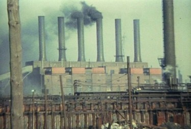 Industrial Detroit Footage from Leni Sinclair Film Footage