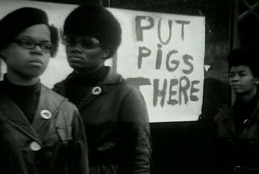 Black Panthers Footage from Leni Sinclair Film Footage