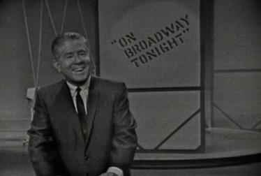 Host Rudy Vallee on On Broadway Tonight Footage