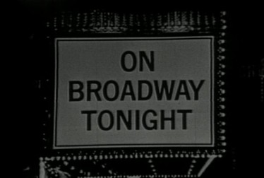 On Broadway Tonight