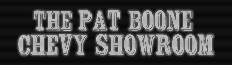 Pat Boone Chevy Showroom Footage Library