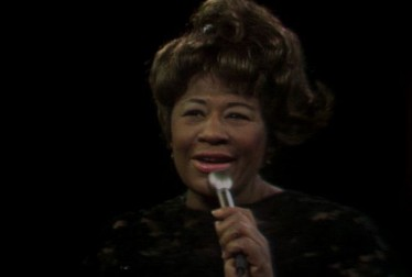 Ella Fitzgerald Footage from Pat Boone in Hollywood