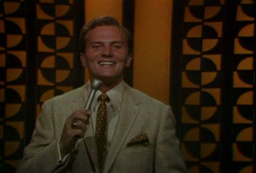 Host Pat Boone on Pat Boone in Hollywood Footage