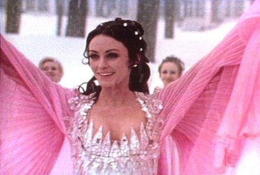 Host Peggy Fleming on Peggy Fleming Specials Footage