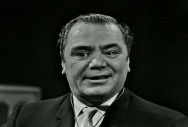 Ernest Borgnine Footage from Ray Anthony Show (1963)