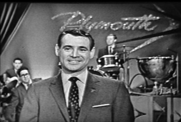 Host Ray Anthony on Ray Anthony Show (1957) Footage