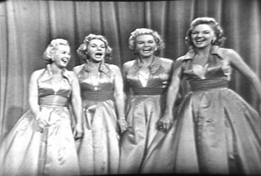 King Sisters Footage from Ray Anthony Show (1957)